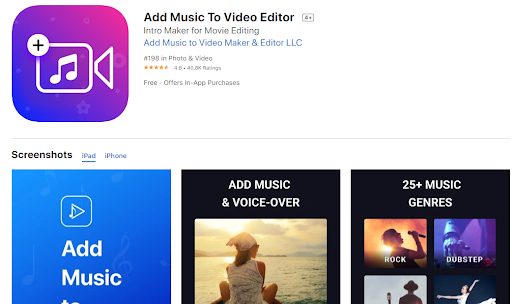 Add Music To Video Editor